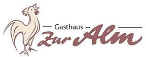 """Gasthaus """"Zur Alm"""" Markus Menne - Logo"""